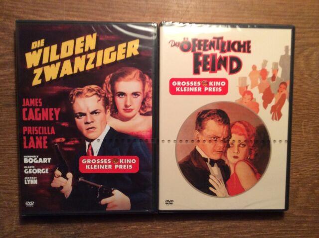 James Cagney [ 2 DVD ] NEU OVP / Der öffentliche Feind + Die Wilden Zwanziger