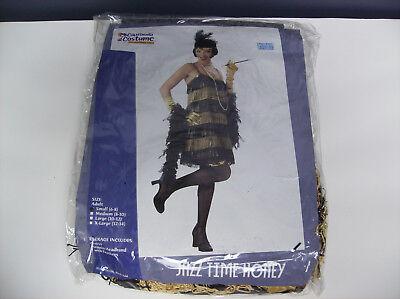 CALIFORNIA COSTUMES JAZZ TIME HONEY WOMEN HALLOWEEN COSTUME SMALL