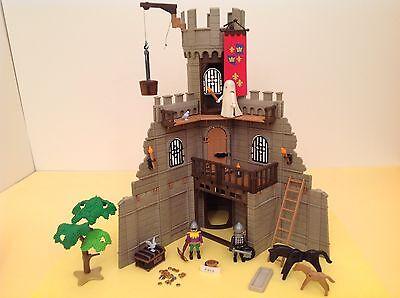 Playmobil Ritter Mittelalter Erweiterung Burg 3666 Rundturm Geist Zubehör Klicky