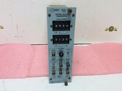 Berkeley Nucleonics Corp Bnc Nim Computer Module 7050 Digital Delay Generator