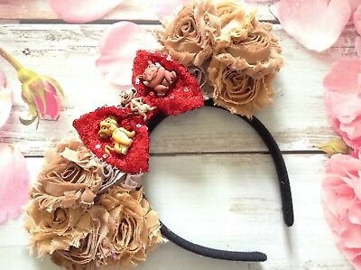The Lion King inspired Minnie Mouse Ears headband- Disneyland-Disney - Lion Ears Headband