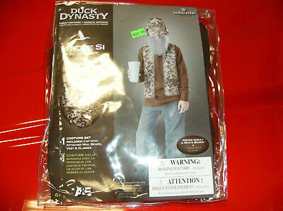 DUCK DYNASTY UNCLE SI CHILD HALLOWEEN COSTUME 6 PLUS - Child Duck Dynasty Halloween Costumes
