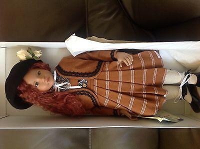 Tarina- Sigikid -MAJA Buckwalder-HTF Artist Doll NRFB 13/100 Vinyl/Cloth 27.5 IN