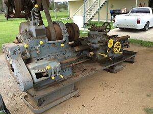 1940,s NUTTALL metal lathe Upper Caboolture Caboolture Area Preview