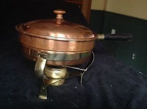 High Quality  Copper and Brass CHAFING  Dish- reduced