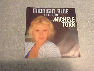 Disque vinyle 45 tours B2 /michele torr,midnight blue