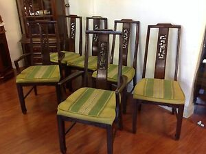 6 Chinese Chairs Mulgrave Monash Area Preview