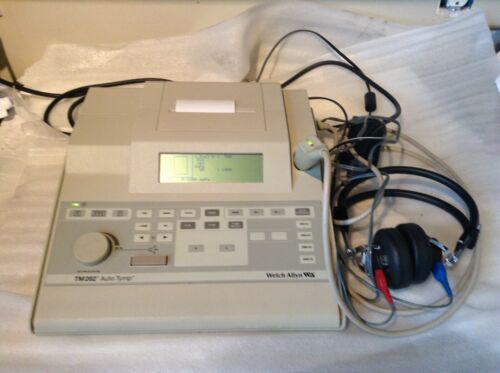 Welch Allyn TM262 AUTO TYMP TYMPANOMETER AUDIOMETER Version 4