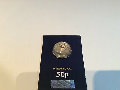 2019 BRILLIANT UNCIRCULATED STEPHEN HAWKING 50p