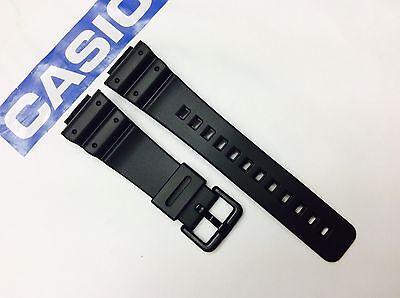 Original CASIO G-Shock 16mm Black Genuine Band DW-6900 DW6600 GW6900 Resin strap for sale  Chula Vista