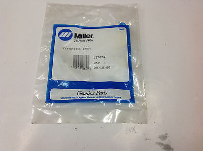 Miller Welder 137674 Capacitor Assembly. New In Bag