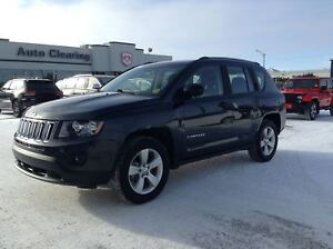 2014 Jeep Compass Sport/North AWD with Low KM