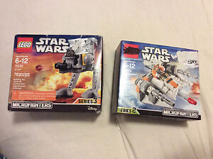 Lego Star Wars Microfighters.
