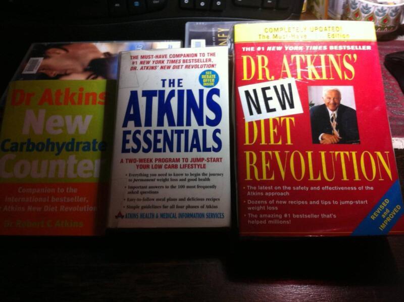 The Atkins Diet Essentials 3 Books Nonfiction Books Gumtree