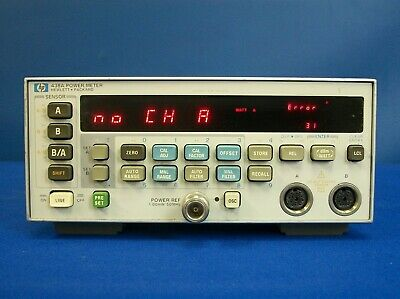 Agilent Hp Keysight 438a Dual-channel 110 Ghz Power Meter