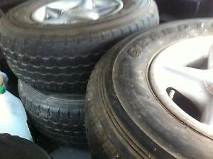 4WD Tyres - used Elwood Port Phillip Preview