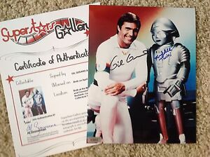 BUCK-ROGERS-In-Person-Signed-Combo-Photo-w-SuperStars-Gallery-SSG-COA-PROOF
