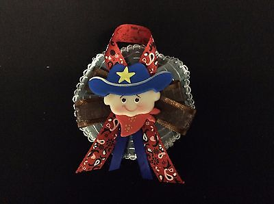 Cowboy Baby Shower Guest Corsage, Pin, Western, Country