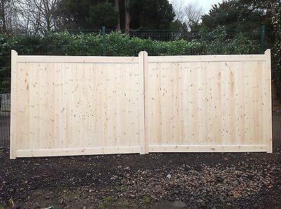driveway gates 6 ft high x 19 ft wide Berkshire gates