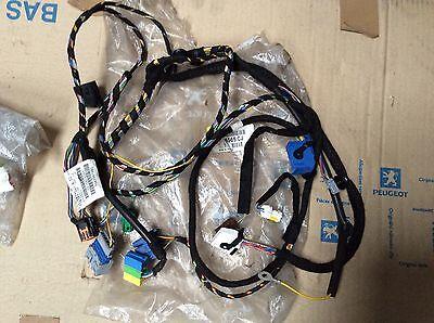 PEUGEOT 206 auto aircon facia panel console wiring harness 6565CJ 9645997980 NLA