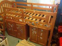 Wooden children's bed - single - no matress Bullsbrook Swan Area Preview
