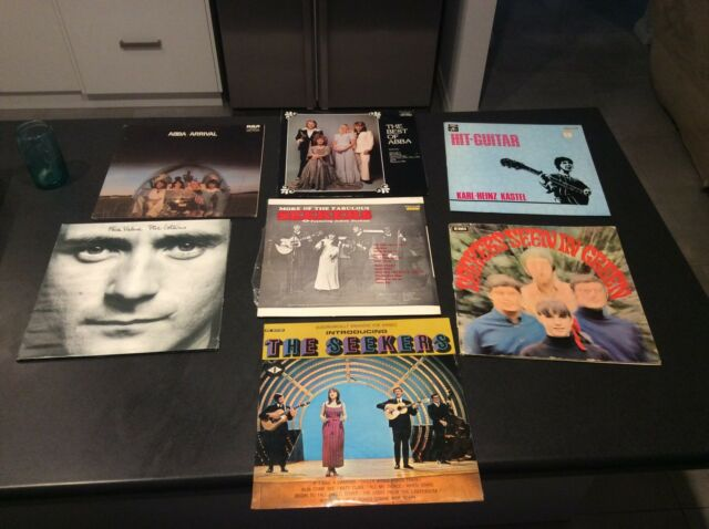 Vinyl Lp S Records Phil Collins Abba The Seekers Karl