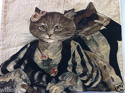 Подушка Susan Herbert Opera Cats High