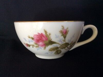 Moss Rose by Japan Coupe Style Tea Cups Moss Rose Coupe