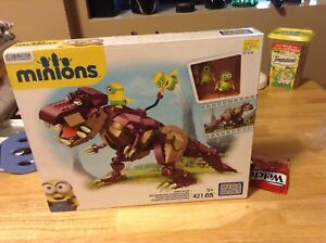 Minions lego brand new never opened 5 plus