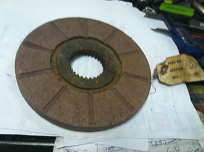 6.5tractor Brake Disc Disk 28 Spline For Farm Tractor Oliver John Deere Ford Ac