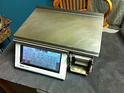 Mettler Toledo Utopia 8461 Smart Touch 30lb POS Counter Deli Scale & Printer