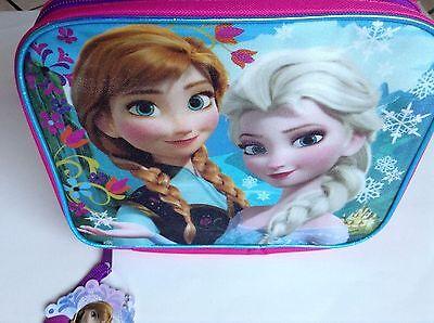 Disney FROZEN ANNA & ELSA Reusable Insulated Lunch Bag