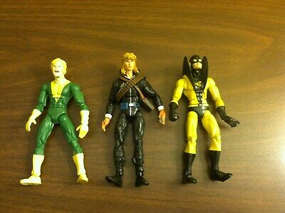 TOY BIZ MARVEL LEGENDS AVENGERS YELLOW JACKET X-MEN BANSHEE LONGSHOT