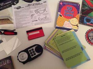 Children's Spy toys & books & accessories