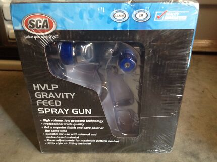HVLP GRAVITY FEED SPRAY GUN NEW ITEM IN BOX  Gosford Gosford Area Preview