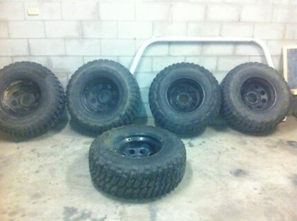 Mud tyres and rims Ayr Burdekin Area Preview
