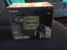 Canon MVX20i camcorder - mini DV Baldivis Rockingham Area Preview