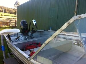 13 ft alumin boat Railton Kentish Area Preview