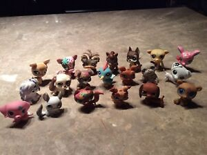 Lot de 20 Littlest Pet Shop