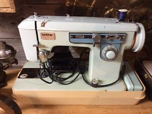 Vintage Brother project 651 portable sewing machine