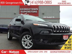 2014 Jeep Cherokee North | 4WD | BACK UP CAM | TOUCH SCREEN