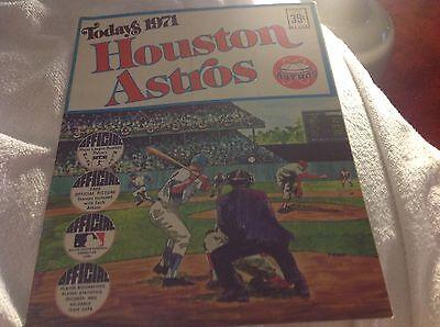 Houston Astros 1971 Dell Photo Album W/ Cards Joe -