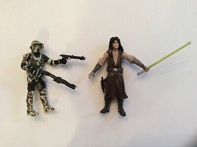 Star Wars Comic Pack Commander Faie and Quinlan Vos and Republic Comic Book #82