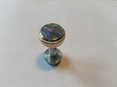 PIMP YOUR HORN LACQUERED FINGER BUTTONS FOR SOVEREIGN BARITONE- PAUA ABALONE