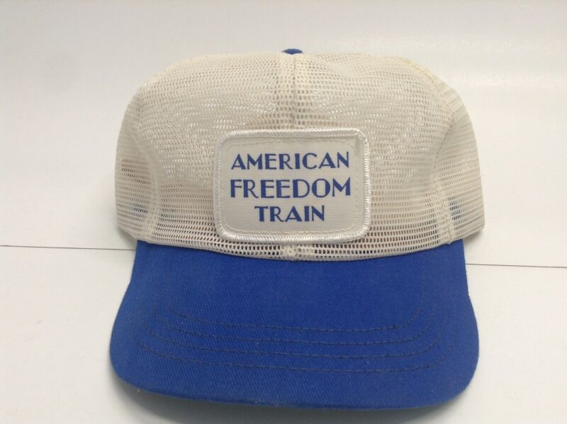 Vintage American Freedom Train All Mesh SnapBack Trucker Hat