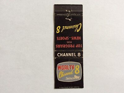 Matchbook Cover   Wgal Tv Channel 8    Look