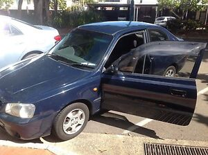 2001 Hyundai Accent Hatchback Cairns Cairns City Preview