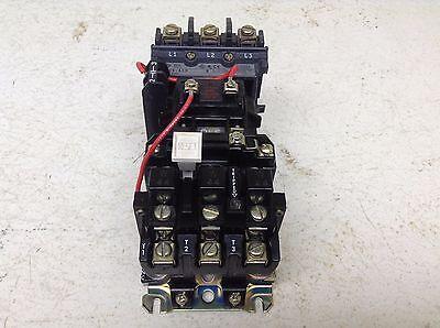 Allen Bradley 509-AOD Size 0 Motor Starter W44 509AOD 115-120 VAC Coil A0D