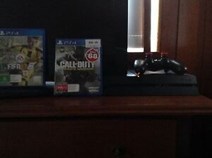 Play station 4 1 TB storage FIFA 17 and CALL OF DUTY INFINITE WARFARE North Ryde Ryde Area Preview
