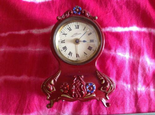 vintage clock JOHMID alarm DOCTOR ZHIVAGO GERMANY mechanical